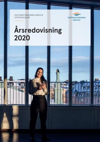 Fastighetsägarna Service Stockholms årsredovisning 2020