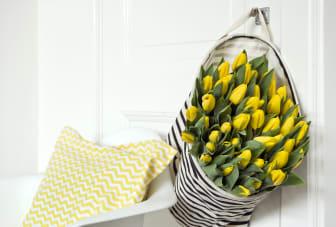 Gula tulpaner till påsk