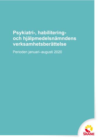 Verksamhetsberättelse för Psykiatri-, habilitering, och hjälpmedel