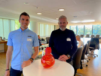 Kenneth Gilje og Hans Erik Smedsrud