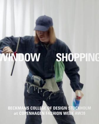 Window Shopping - Beckmans Fashion Collaboration, teaser 1