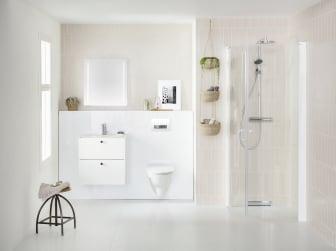 IDO Elegant Compact -alakaappi, Showerama 10-4, Glow 65 -seinä-wc