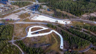 Lager 6,5 kilometer langrennsløyper på snø fra i fjor