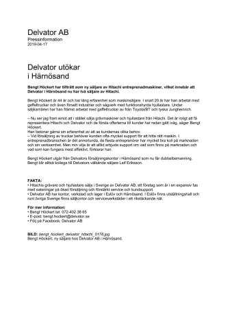 Delvator utökar  i Härnösand