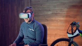 Test av Trysil Bike Arena i VR