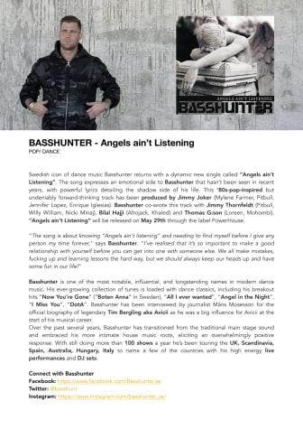 Svenska ikonen Basshunter gör comeback med ny musik