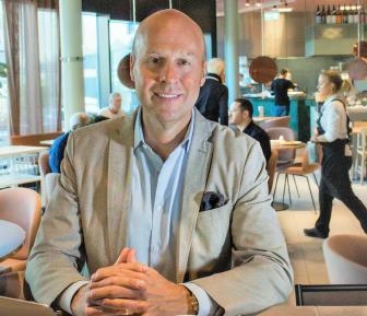Johan Michelson, ny VD för BWH Hotel Group Scandinavia.