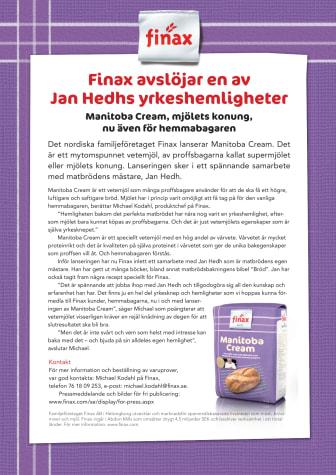 Finax avslöjar en av  Jan Hedhs yrkeshemligheter