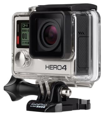 GoPro HERO4 Actionkamera - gaveønske til jul