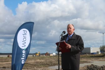 Groundbreaking at Blue World Technologies - Gregory Dolan, CEO at Methanol Institute