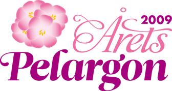 Logo - Årets pelargon 2009