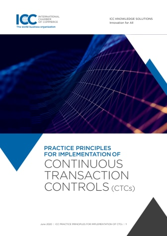 ICC Continuous Transaction Control (CTCs) Practice Principles