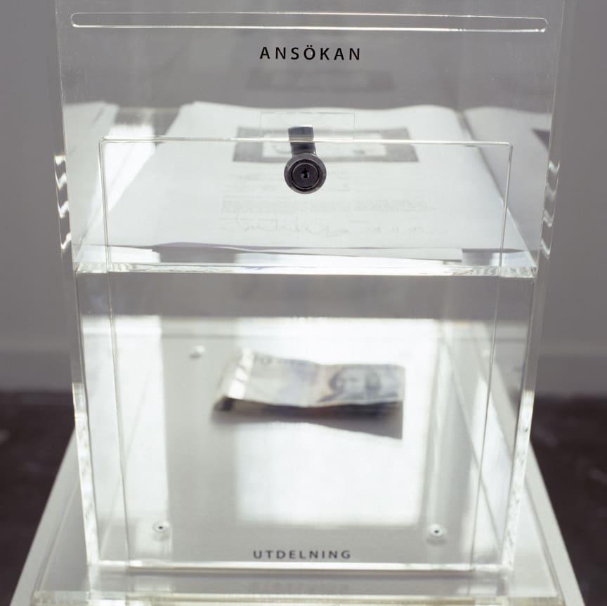 Malmö Konstmuseum, Pål Hollender ansökningsbox