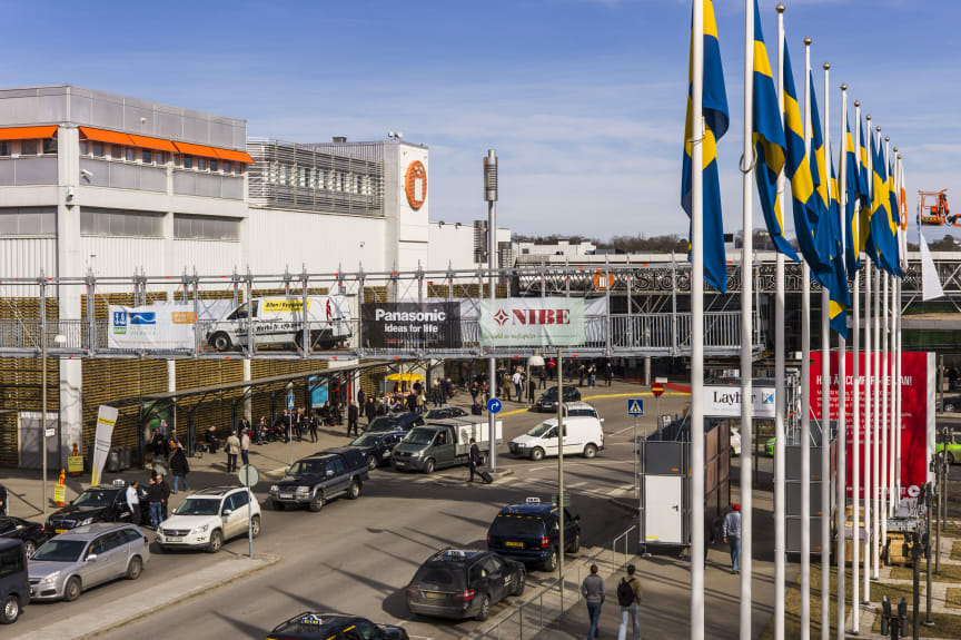 56,475 people visited this year's Nordbygg, Norhern Europes largest constructrion exhibition.