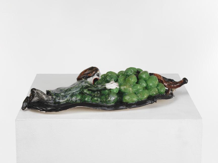Klara Kristalova, Gluttony, 2009. Glazed stoneware. Courtesy of Alison Jacques Gallery