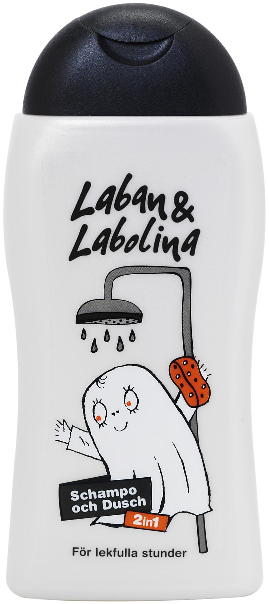 Schampo och Dusch Laban & Labolina, 250 ml