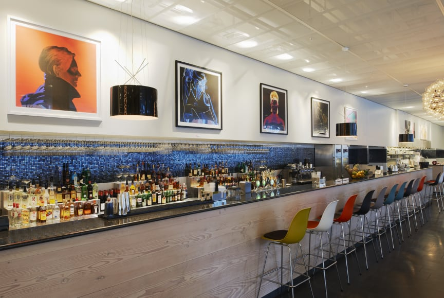 Scandic Victoria Tower, Lobby bar