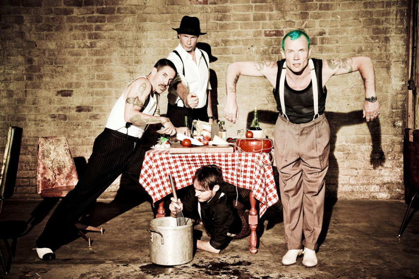 Red Hot Chili Peppers pressbild