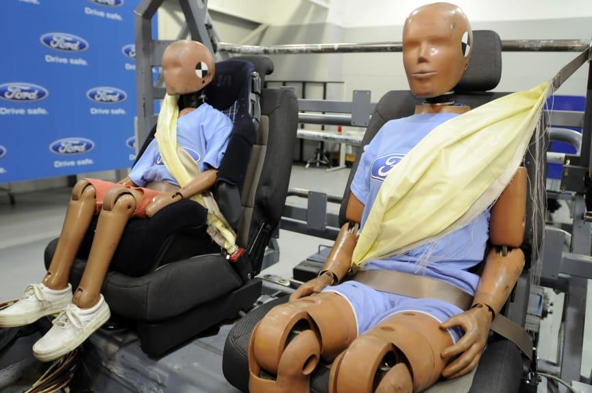 Fords nye sikkerhetsbelter øker sikkerheten ytterligere.