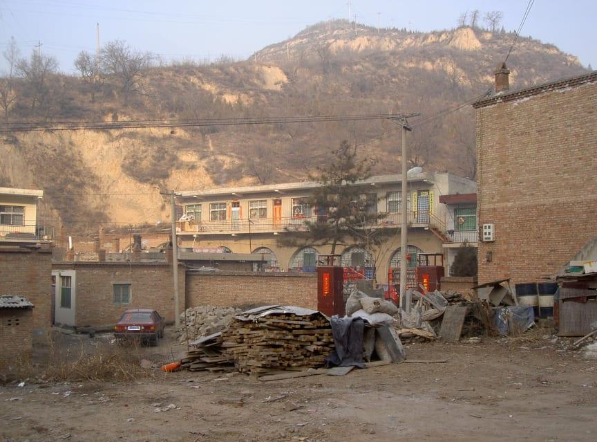Byn Liu Lin från Jan Myrdals böcker om Kina