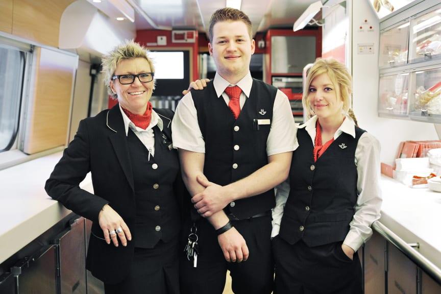 Ombordpersonal på X 2000
