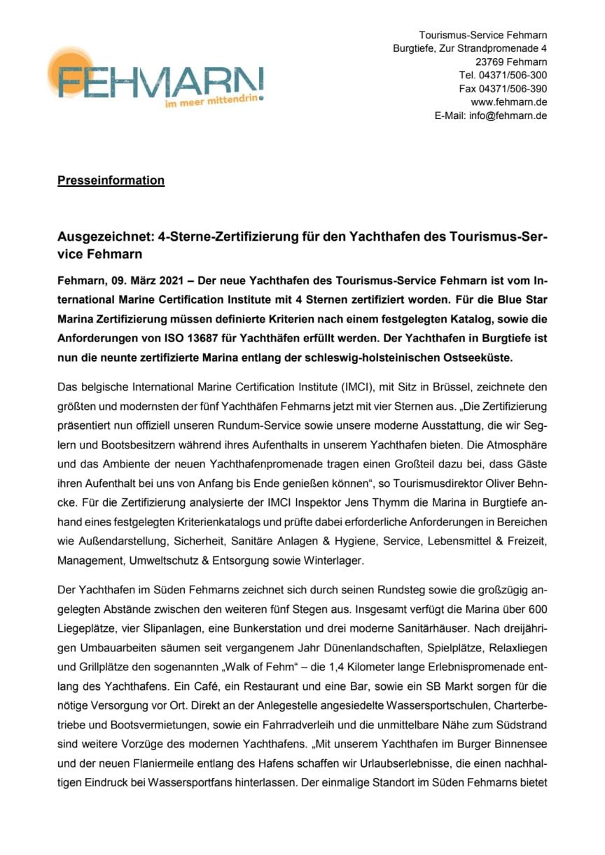 Tourismus-Service Fehmarn_Yachthafen Zertifizierung.pdf