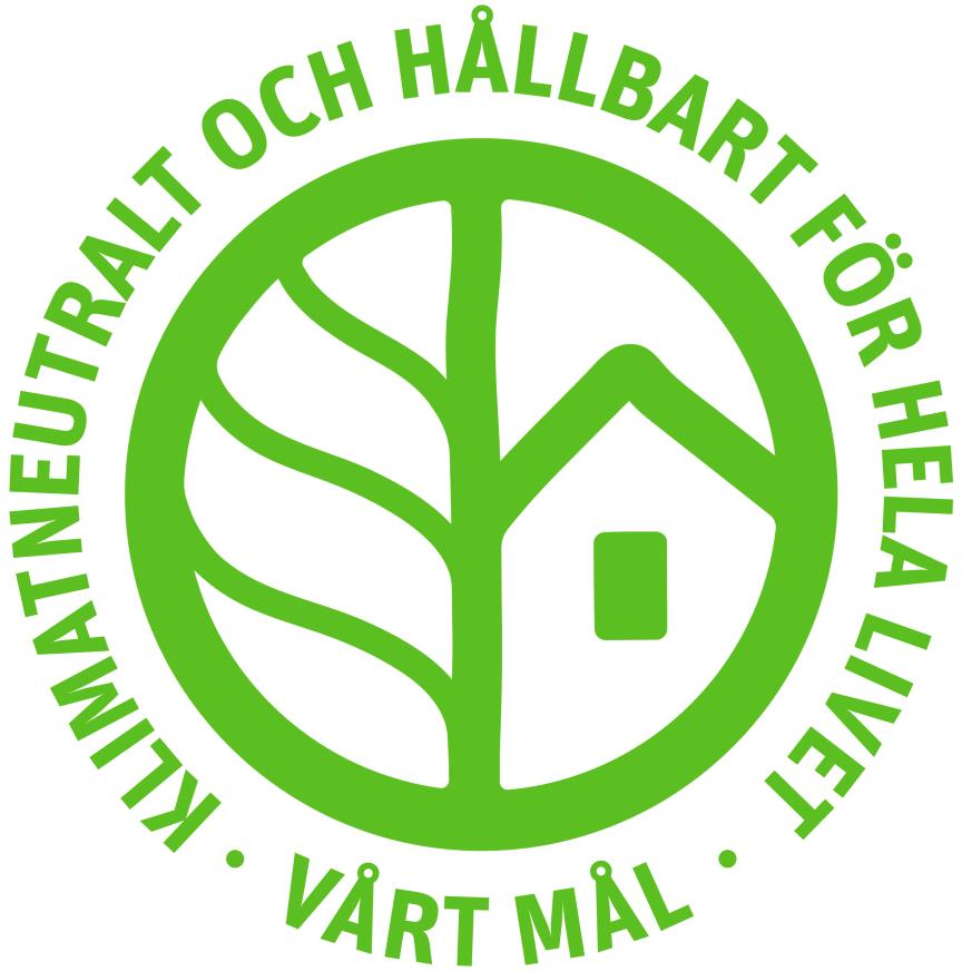 Riksbyggens hållbarhetssymbol