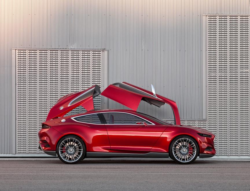 Ford EVOS Concept viser Fords nye, globale design- og teknologivision (24)