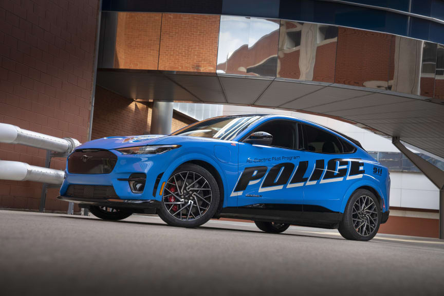 Ford Mustang Mach-E Police Pilot