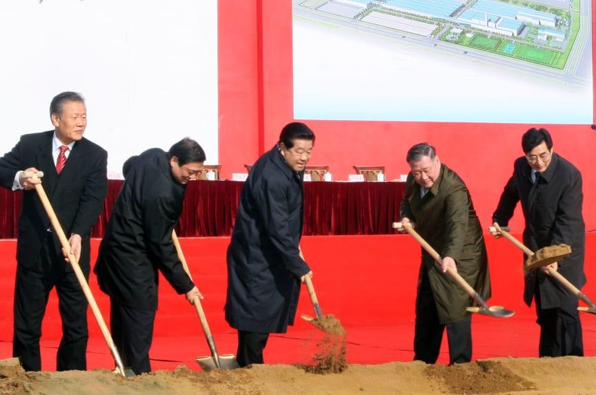 Hyundai bygger ny fabrik i Kina