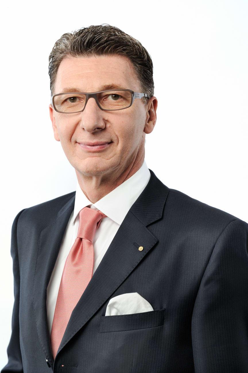 Ulrich Leitermann, Vorsitzender der Vorstände