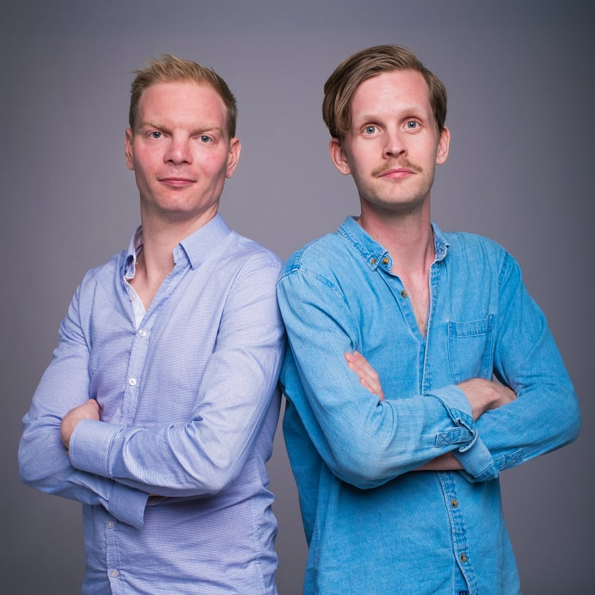 Daniel Hermansson och Robin Olovsson