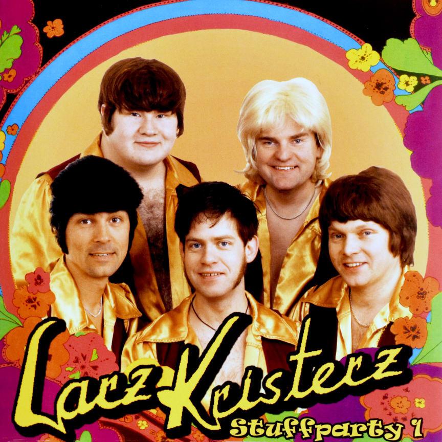 "Omslag - Larz-Kristerz ""Stuffparty 1"""