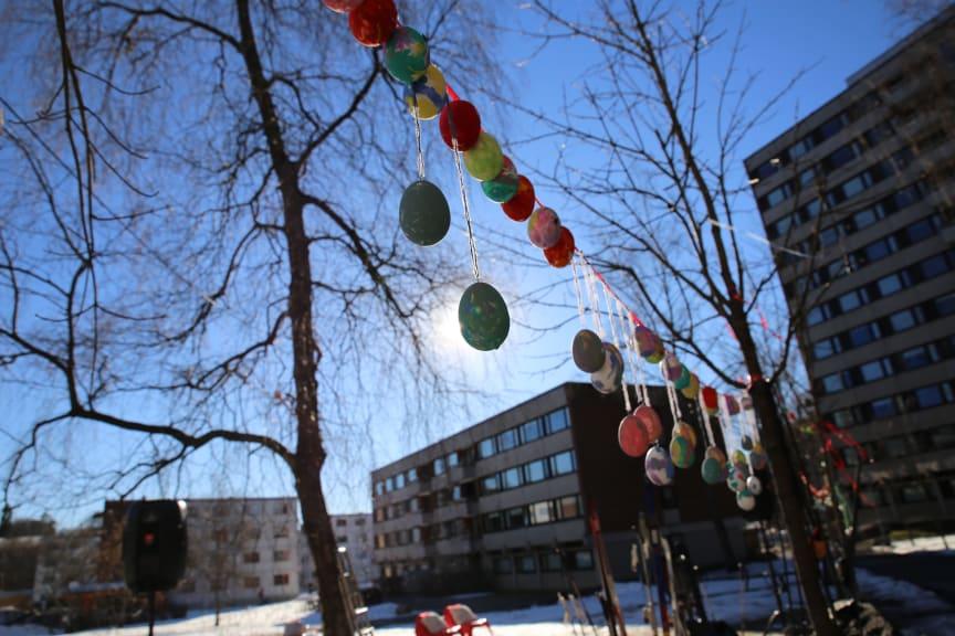 Påskeeggjakt Kringsjå Studentby