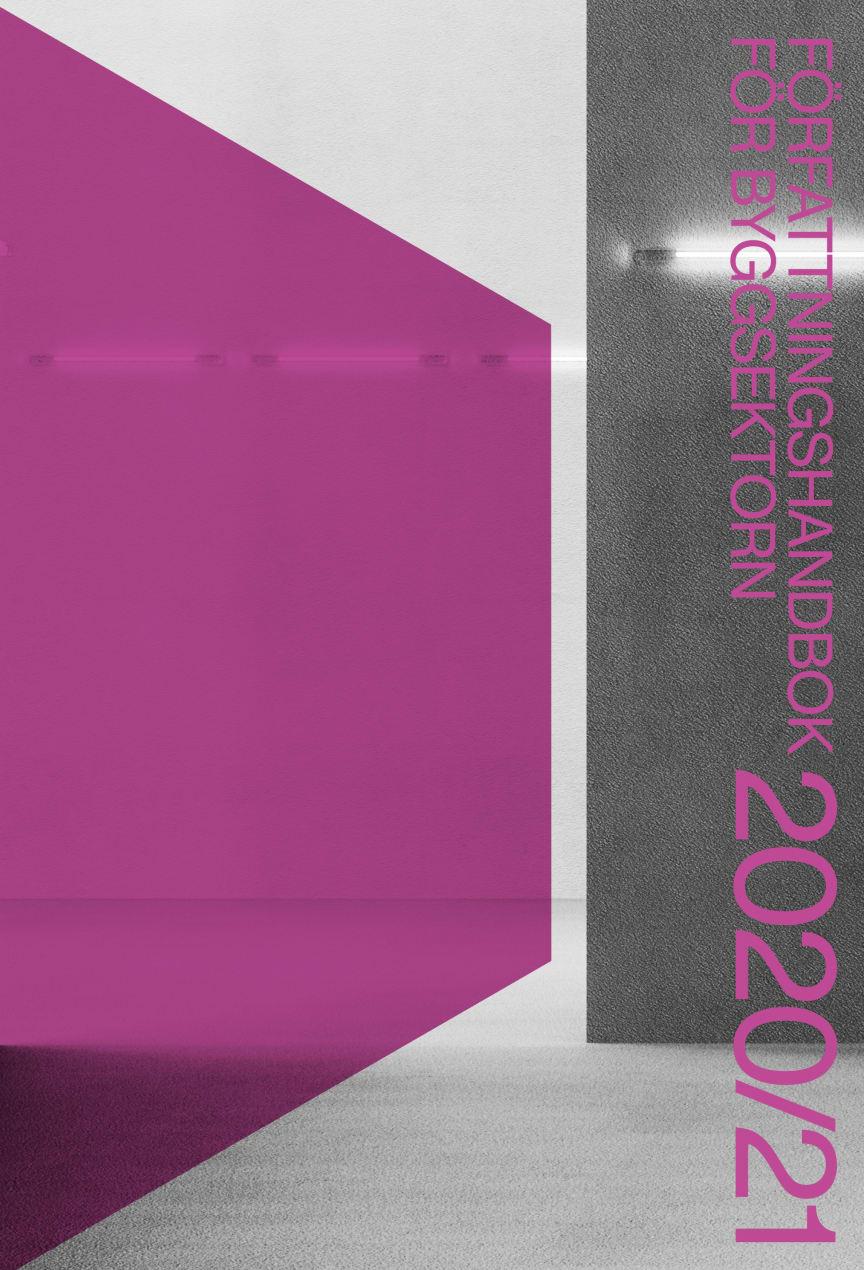 Författningshandbok för byggsektorn 2020/21