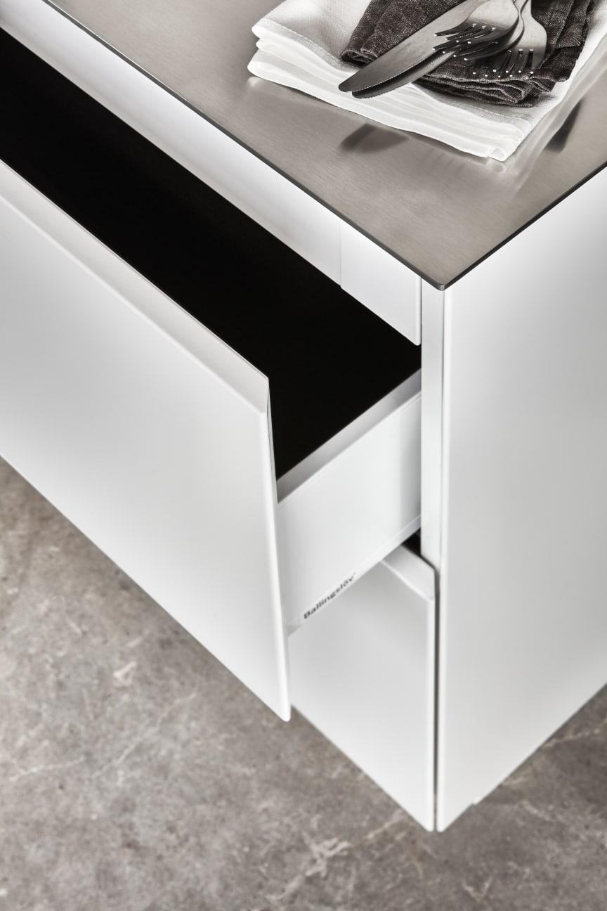 Drømmekjøkkenet S45 Bistro hvit