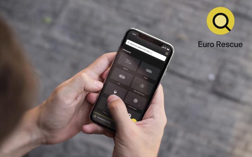 Euro NCAP's 'Euro Rescue' app