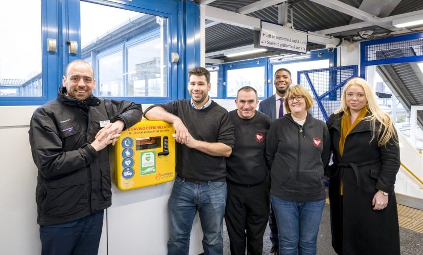 Defibrillator at Welwyn Garden City