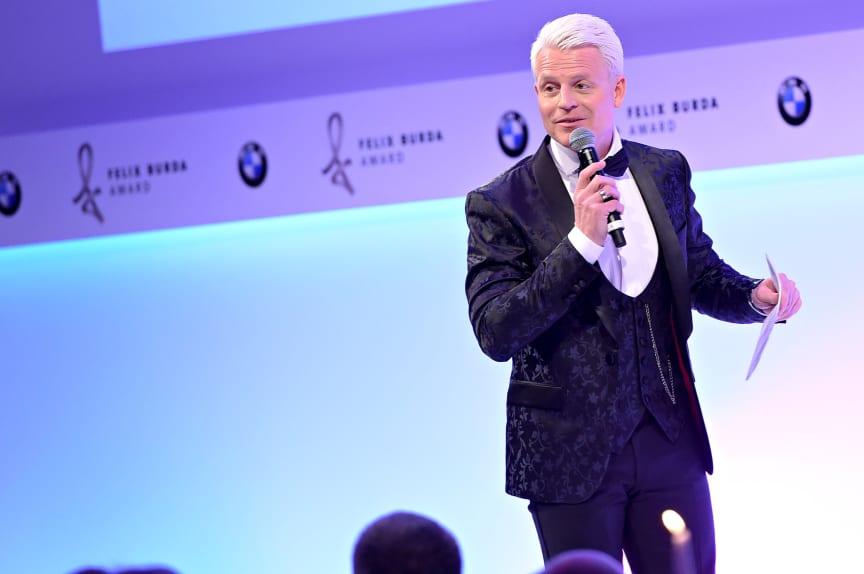 """Guido Cantz (""""Verstehen Sie Spaß"""")  beim Felix Burda Award 2018"""