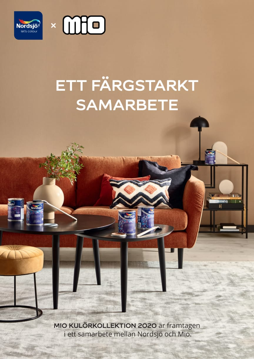 Nordsjö x Mio broschyr