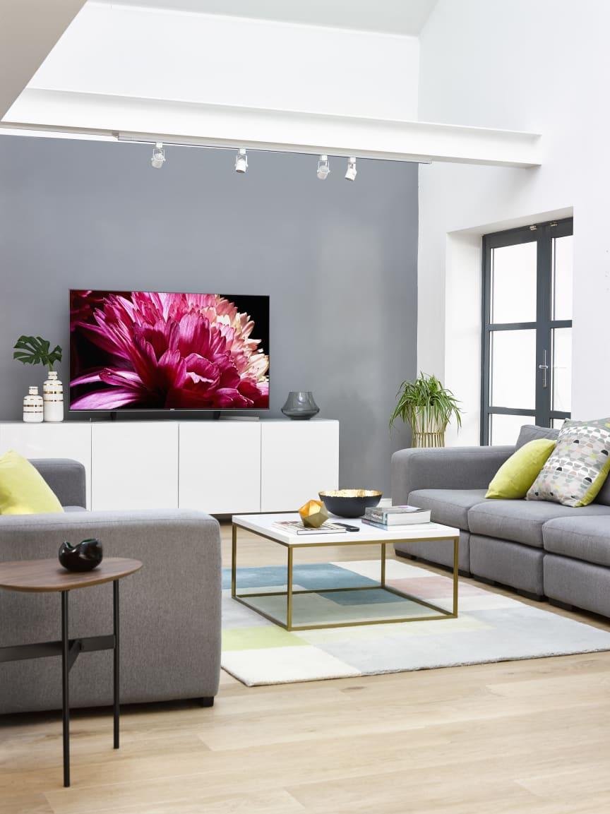 Sony 'Evolution of the Living Room' - modern day