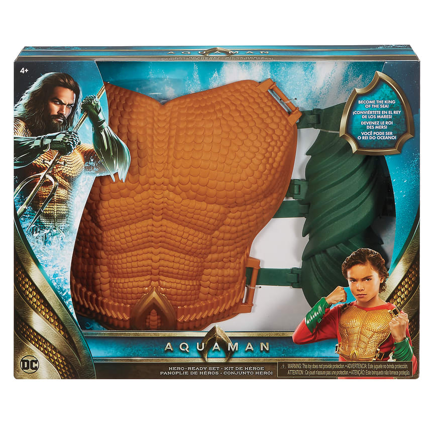DC Aquaman Chest Plate Build Up