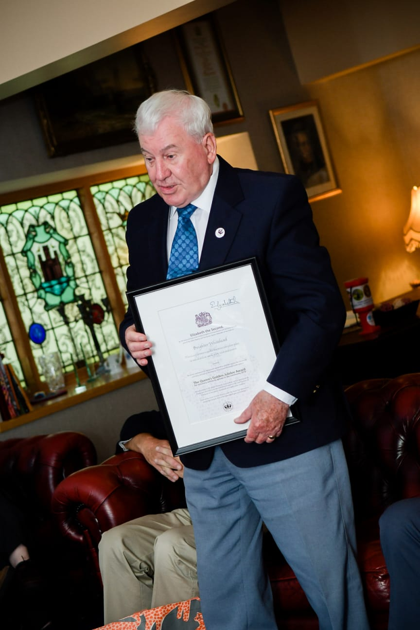 Brighter Whitehead QAVS Award
