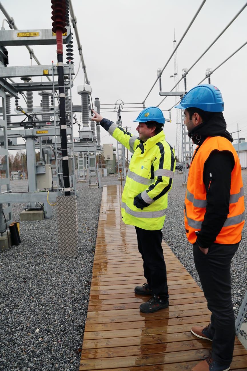 Måby transformatorstasjon utenfor Stockholm