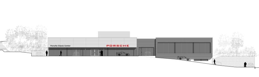 Porsche classic_Fasade nordøst