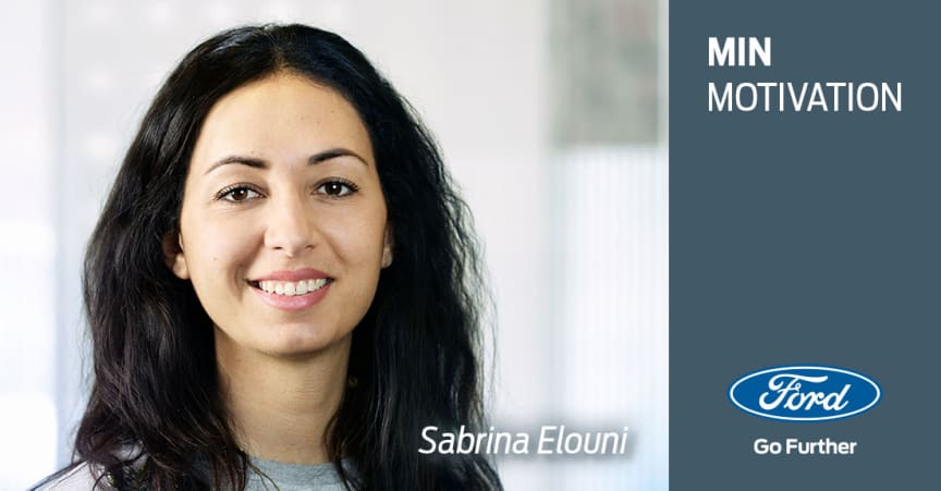 Min motivation: Sabrina Elouni