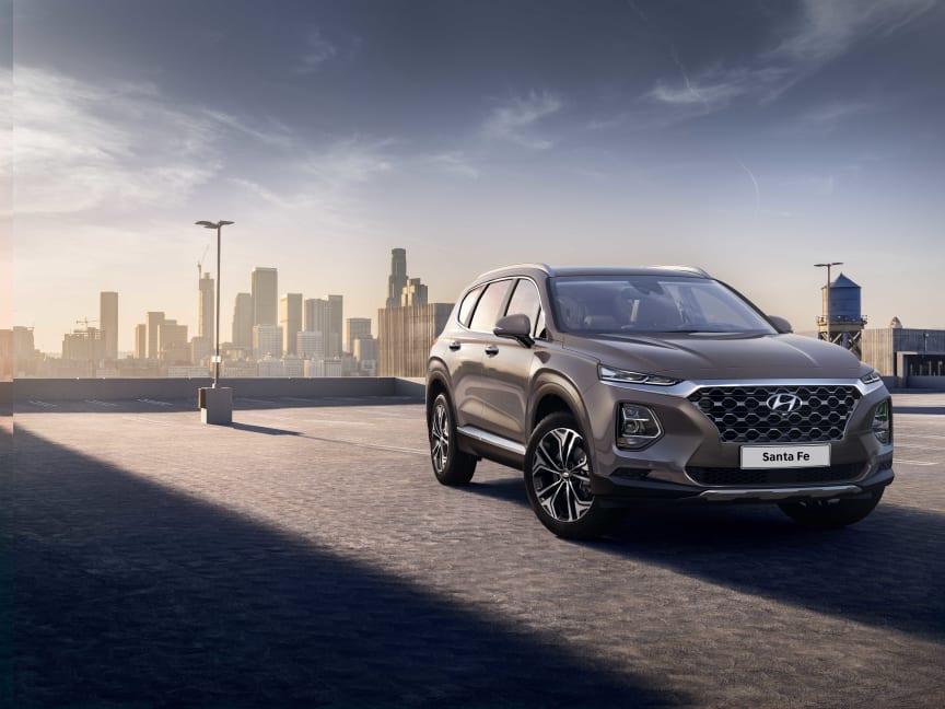 Hyundai Motor reveals first image of the Santa Fe (Ext.)