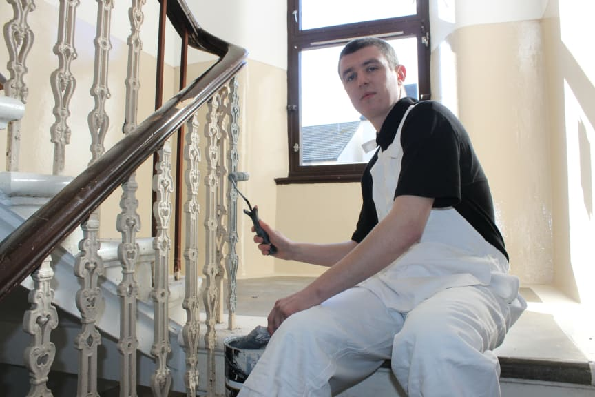 Martin is Apprentice of the Year