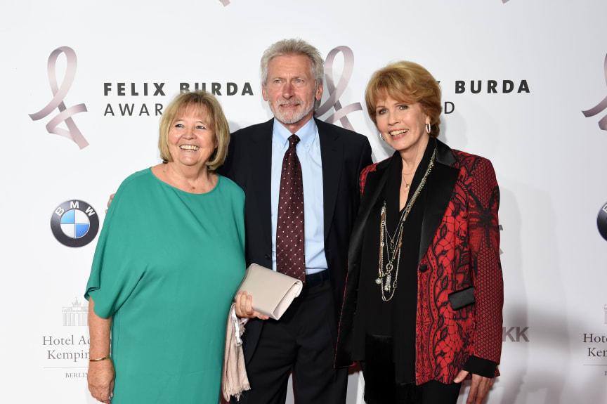 Hildegard und Paul Breitner mit Christa Maar