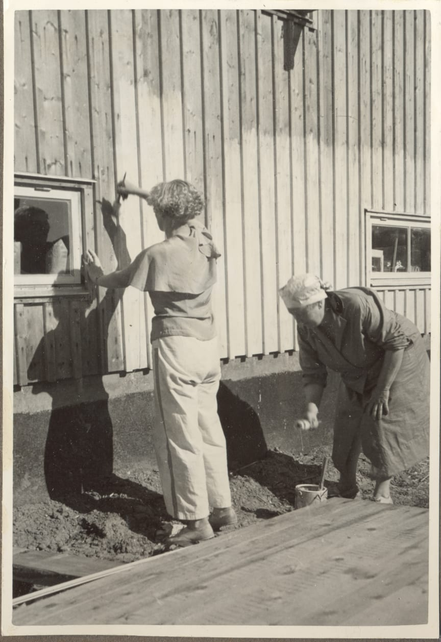 Självbyggeri en del av idén - Egnahemsbolaget 80 år